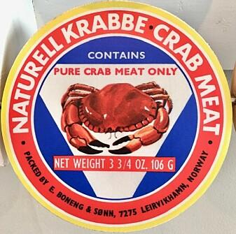 Hermetisk krabbe ble eksportert verden rundt.