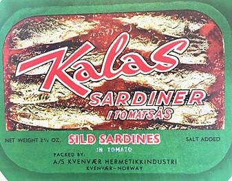 Sardiner fra Hitra. Norske fabrikker tapte et søksmål fra Frankrike og fikk ikke lov til å kalle sardiner for sardiner etterpå.