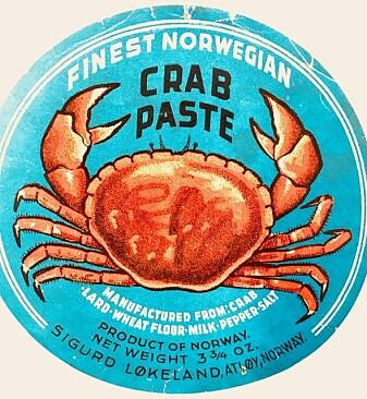 Krabbe fra Mausundvær på Frøya.