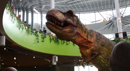 Dinosaurer har inntatt Sarpsborg