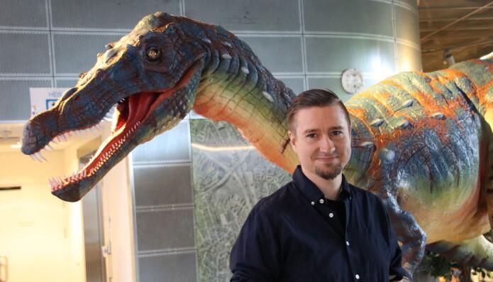 Vegard Haugen er kommunikasjonsrådgiver og webredaktør ved Inspiria science center.