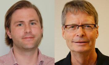 Knut Gythfeldt (t.v.) og Kåre Heggen ved HiOA står bak rapporten. (Foto: Kjersti Lassen)