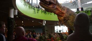 Dinosaurer i full størrelse har kommet til Norge