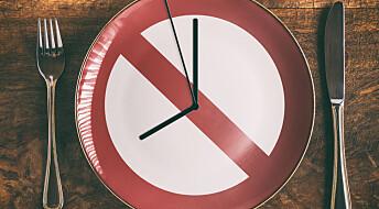 Hvor lenge om dagen må du faste for å få effekt?