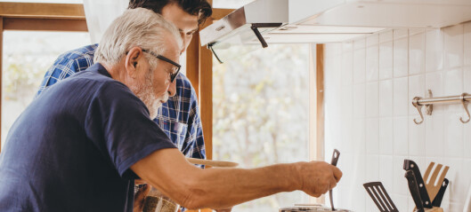 Å bo hjemme gjør at de med demens kan bevare sin vante rytme. Samtidig gjør demens at rytmen blir forstyrret.