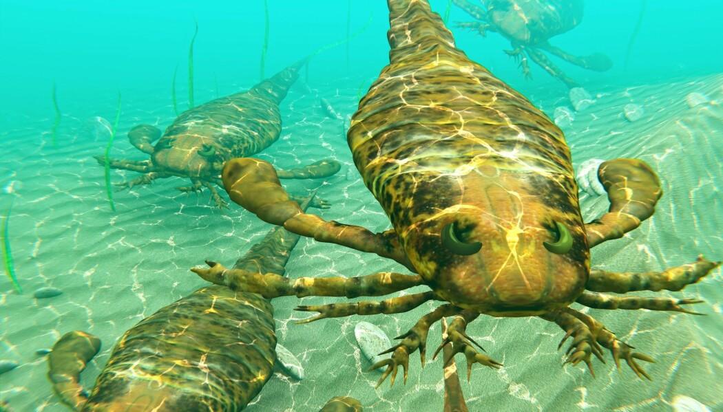 Sjøskorpionene døde ut i jordas største masseutryddelse.