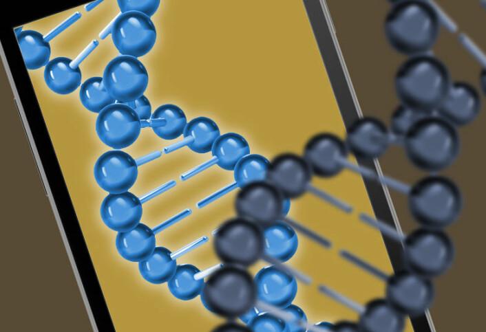 Genene avbilder seg selv så fullstendig at avbildningen kan brukes til å lage en kopi. (Foto: (Bilde: www.colourbox.no/forskning.no))