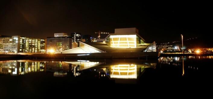 Ravkraft gjør byen til et vakkert smykke (Foto: Cornelius Poppe / NTB scanpix)