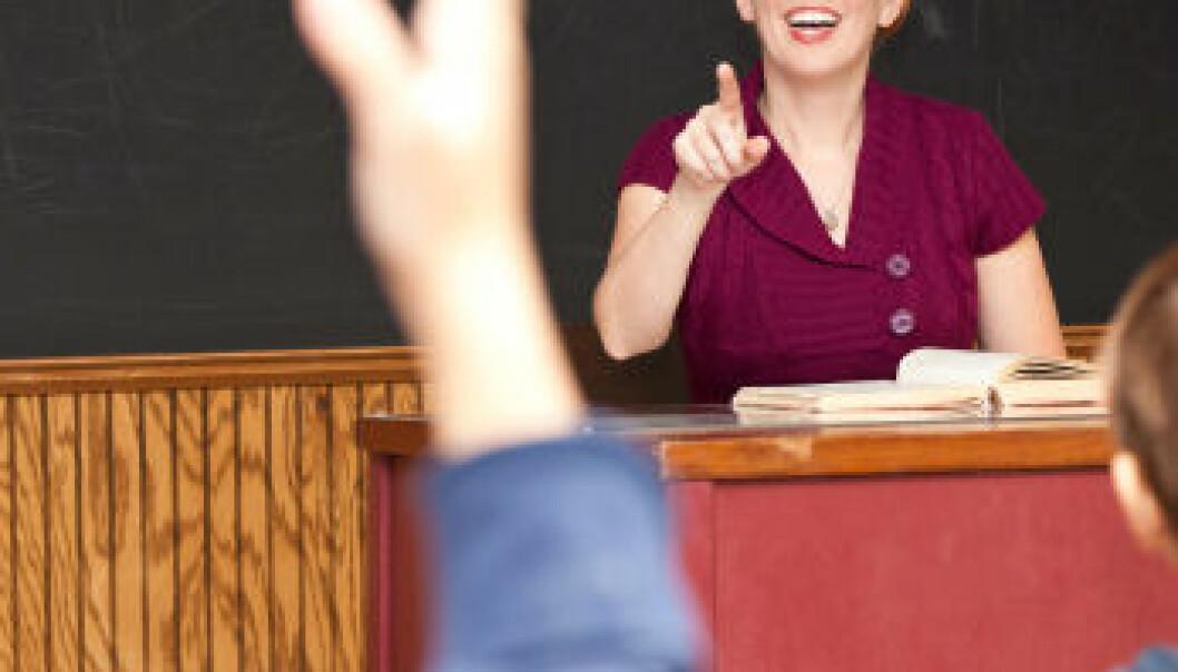 – Lærerne må lære å bite fra seg