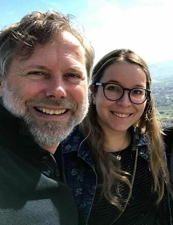 Jon-Håkon Schultz og Steffi Schenzle har drevet feltarbeid i Beqaa Valley i Libanon.
