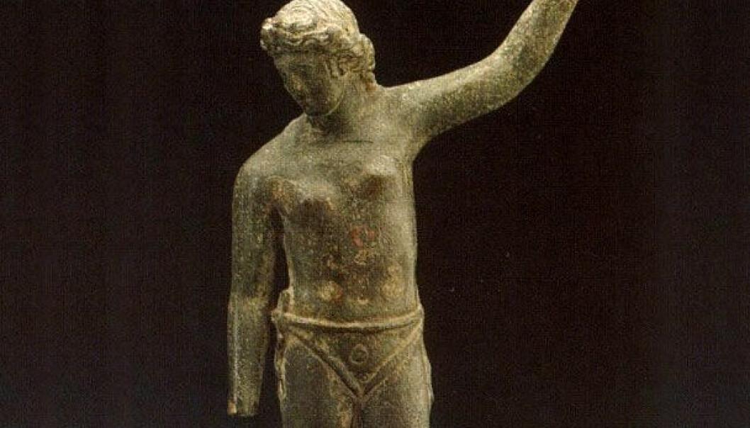 Dette skal være en typisk seiersposisjon for en gladiator. Alfonso Manas, University of Granada