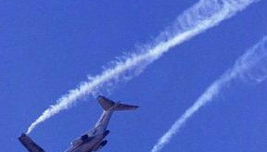 Virvlende flyforsinkelser