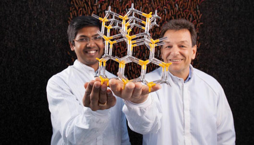 Dheeraj Dasa og Helge Weman. Kai T. Dragland/NTNU