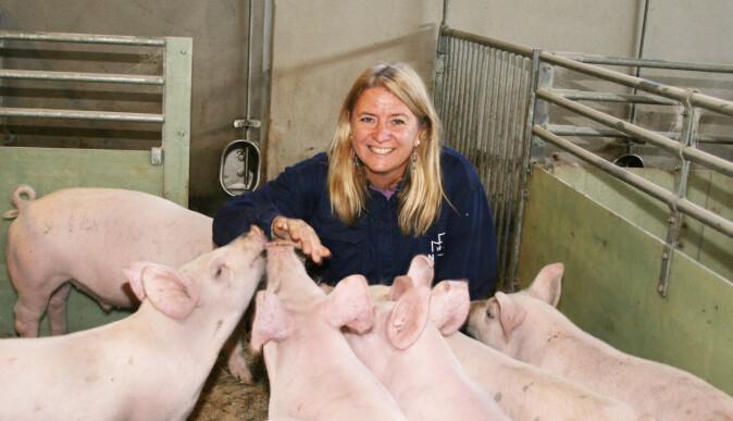 Inger Lise Andersen er professor i etologi ved NMBU. Hun tror det ville vært vanskelig å spise kjøtt hvis vi skulle hatt samme forhold til grisen og hunden.