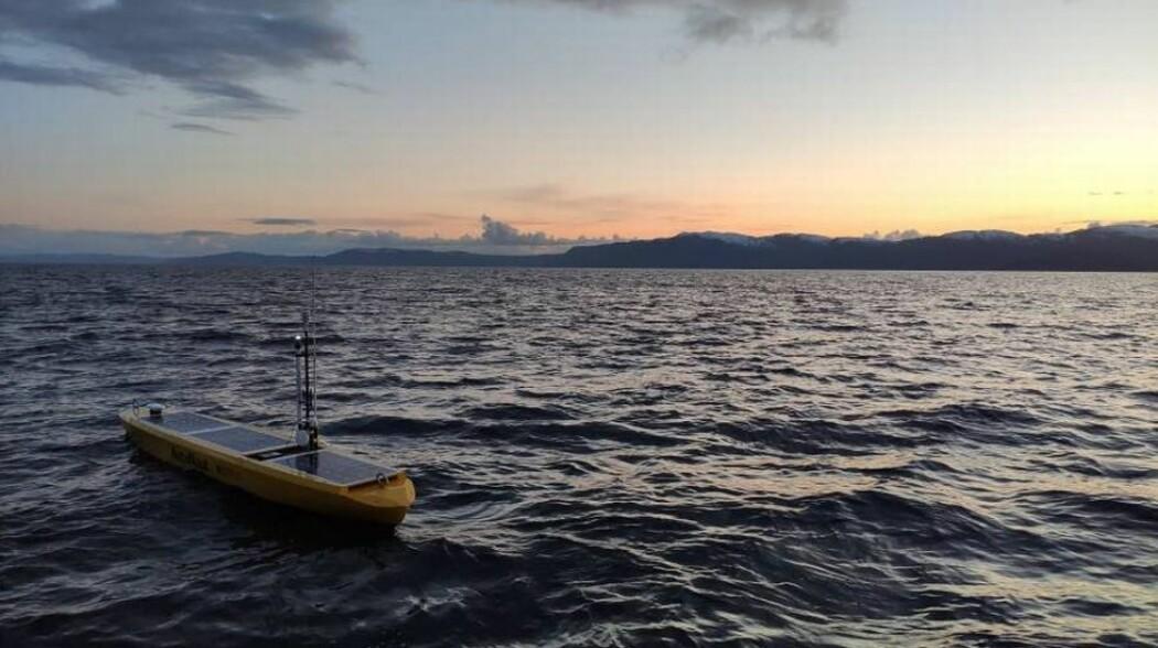 Da Autonaut først ble testet i Trondheimsfjorden trodde nysgjerrige trøndere at det var russerne som var på ferde, forteller forsker.