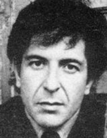 """Leonard Cohen"""