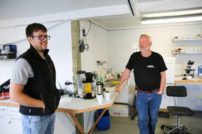 Alberto og Odd Arne Arnesen har rukket å bli godt kjent i løpet av prosjektet.