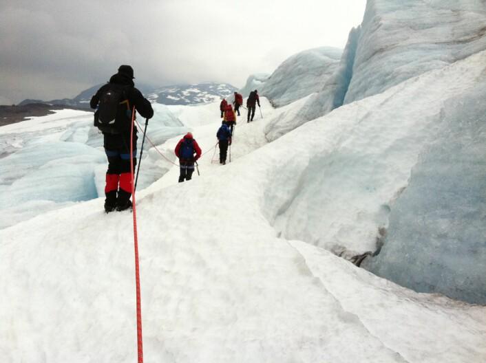 Guiden betyr svært mye for at du som turist blir fornøyd med reisen. (Foto: Trude Landstad/Nordlandsforskning)