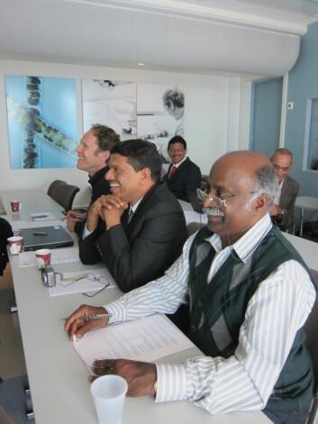 Polarforskere fra Norge, Chile, Tyskland og India er samlet i Trondheim denne uka for å finne en løsning på global oppvarming. (Foto: NTNU)