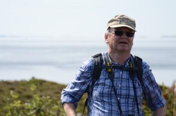 Professor Peter Emil Kaland ved Universitetet i Bergen. (Foto: Morten Günther)