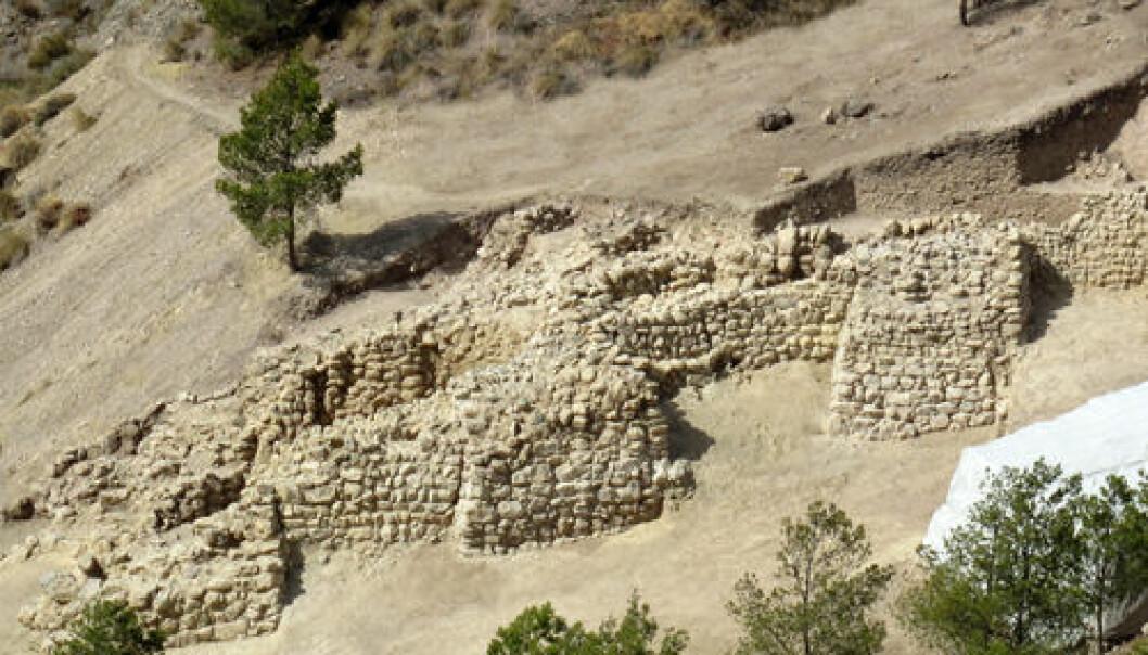 Bronsealderbosetting Murcia. ASOME-UAB
