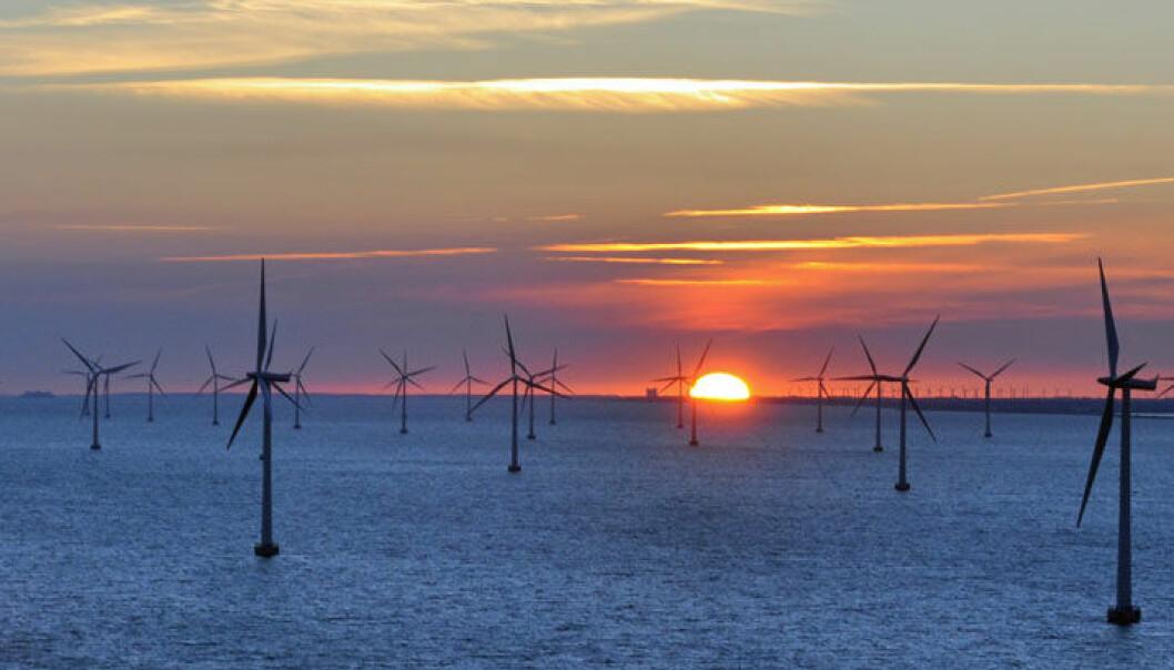 Mye vind fører til at de andre leverandørene av strøm må skru ned kraftproduksjonen. Colourbox.com
