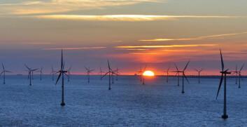 Mye vind fører til at de andre leverandørene av strøm må skru ned kraftproduksjonen. (Foto: Colourbox.com)