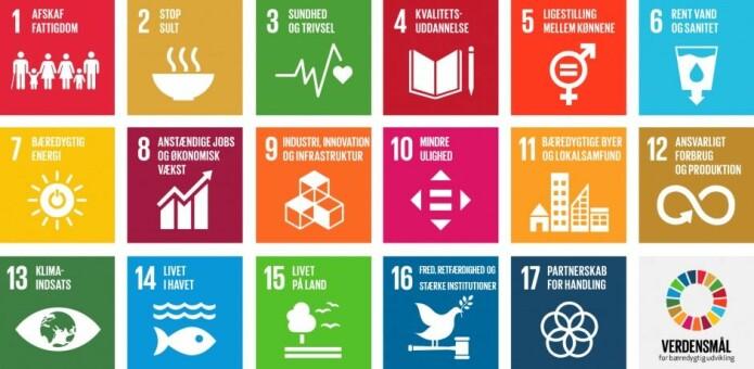 FNs bærekraftsmål utgjør 17 konkrete mål (og 169 delmål). Målene forplikter FNs 193 medlemsland til å arbeide for en bærekraftig utvikling på kloden, blant annet ved å avskaffe fattigdom og sult, redusere ulikheter og sikre utdannelse og bedre helse.