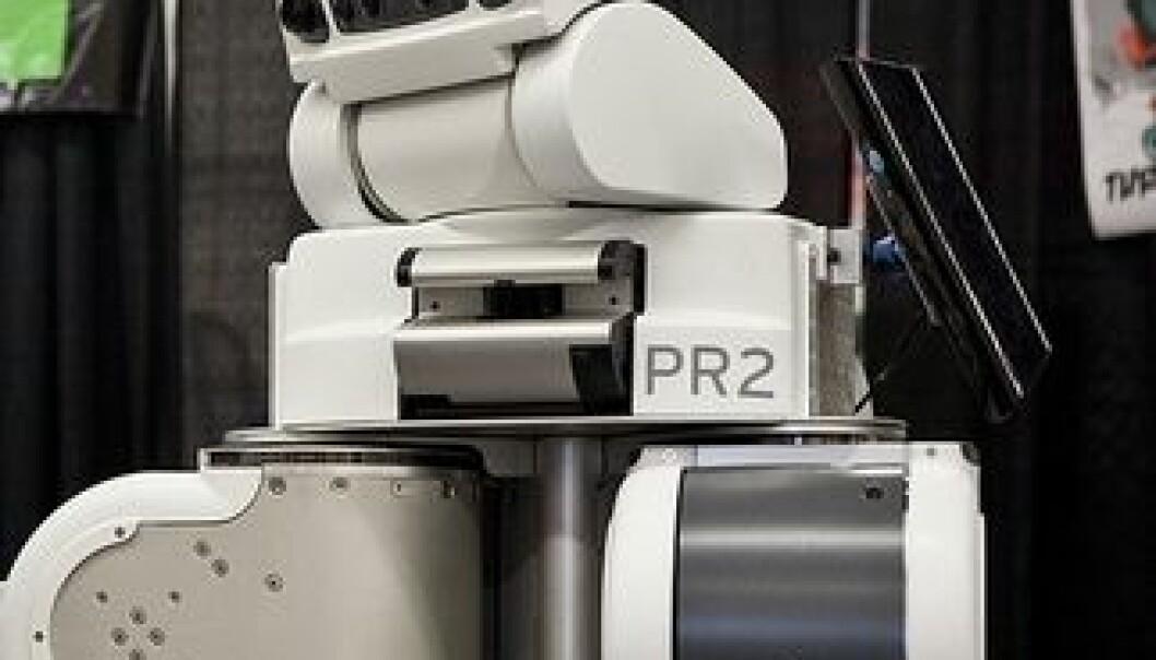 Roboten PR2 kan hjelpe deg i en framtidig hverdag. (Foto: Willow Garage