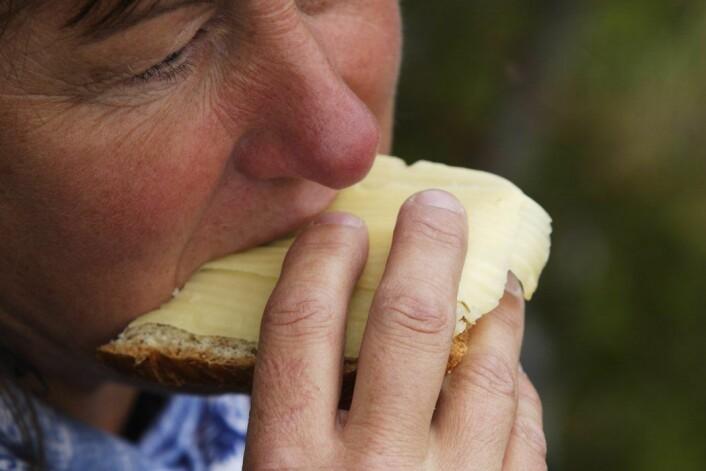I følge forskerne, har ost trolig en positiv effekt på fettverdiene i blodet, fordi kalsium i ost er innleiret på en bestemt måte. (Foto: Espen Bratlie, Samfoto)