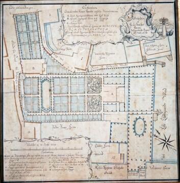 Hagen som tilhørte de Besche-familien startet som en apotekerhage, men på 1700-tallet ble den bygget ut til en hage i barokk stil over dagens Torgallmenning. Den var moteriktig i Bergen, men avleggs for Claus Fasting.