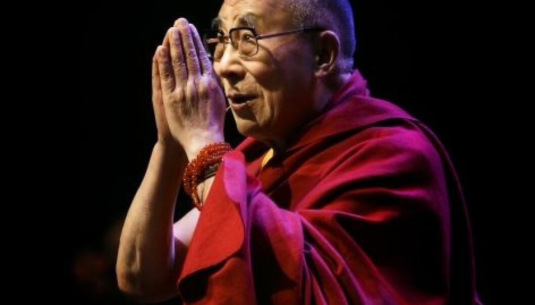 - Forståelig at de ikke møter Dalai Lama