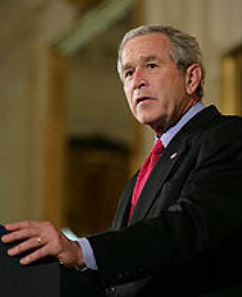 """George W. Bush la ned sitt andre veto mot stamcelleforskning."""