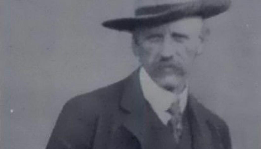 Fridtjof Nansen i 1914. Bildet er hentet fra boka Gjennem Sibirien, Jacob Dybwads Forlag. Wikimedia