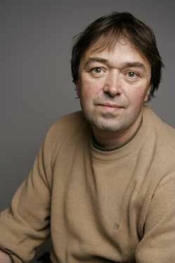 Forsker Øyvind Sætra ved Meteorologisk institutt. (Foto: Bård Gudim)