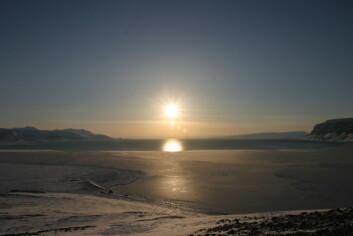 """Vintrene 2006 og 2007 var det minimalt med sjøis i Isfjorden på Svalbard. (Foto: Frank Nilsen/UNIS)"""