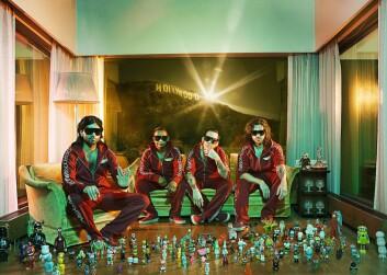 Bergensbandet Datarock ble et internasjonalt fenomen. Mye takket være bandets MySpace-profil. (Foto: Thomas Brun)