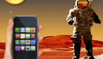 Stråling i verdensrommet og fra mobilen