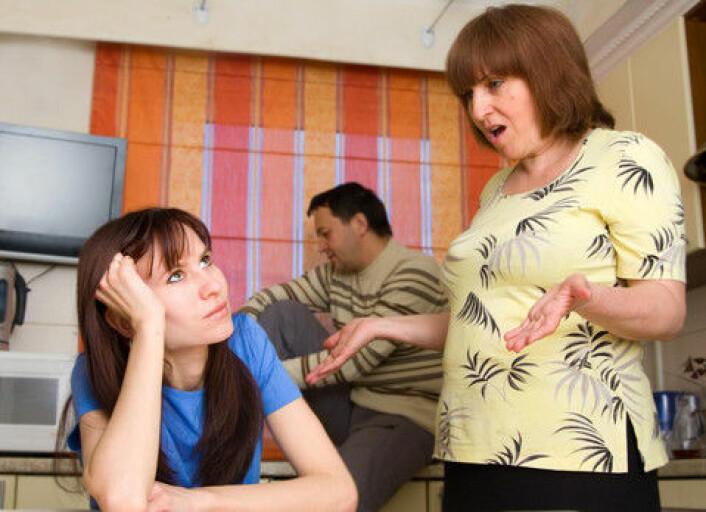 Foreldre har andre ønsker til partnervalg enn barna selv, viser ny forskning. Det skaper ofte konflikter. (Foto: Colourbox)