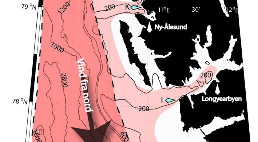 Vind forklarer isfrie fjorder