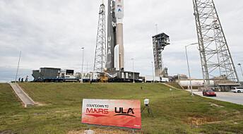 NASAs nye rover er på vei til Mars