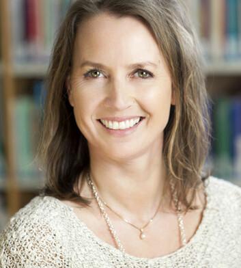 Stipendiat Hilde Aamodt, ved NOVA. (Foto: Studio Vest)