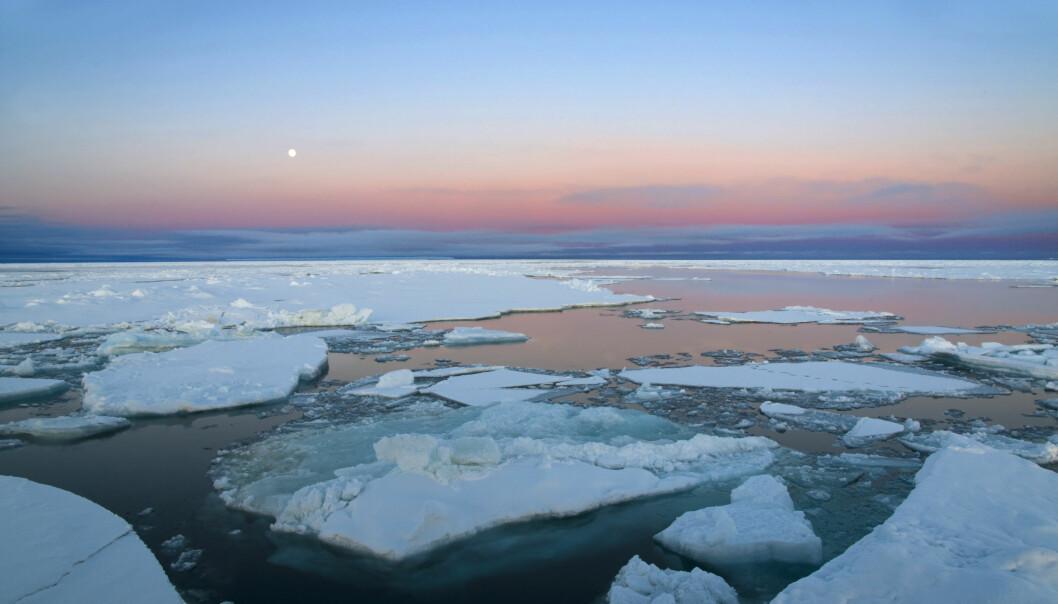 Større områder med åpent vann i Arktis har bidratt til den bratteste temperaturstigningen siden slutten av istiden.