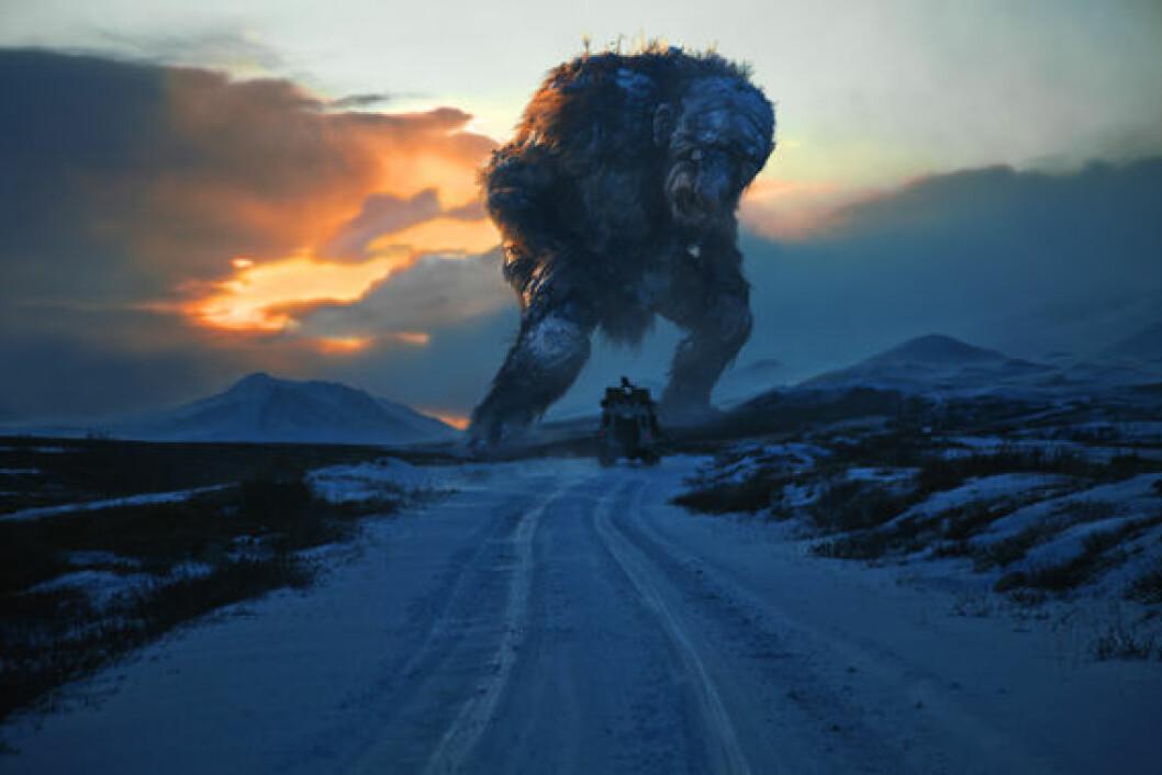 Trolljegeren, en liksomdokumentar om de norske trollene, ble en internasjonal suksess. Foto: SF Norge AS (Foto: SF Norge AS)