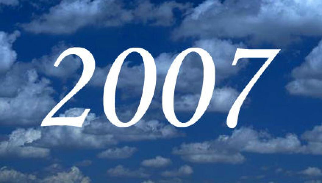 Høydepunkter i 2007