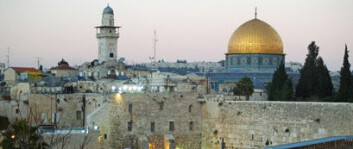 Jerusalem er viktig for både jøder, muslimer og kristne. (Foto: Wikimedia Commons)