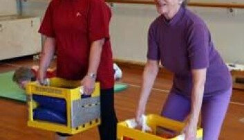 Trening gir eldre økt velvære