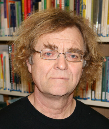 Forsker Svein Mossige, ved NOVA. (Foto: Halvard Dyb, NOVA/HiOA)