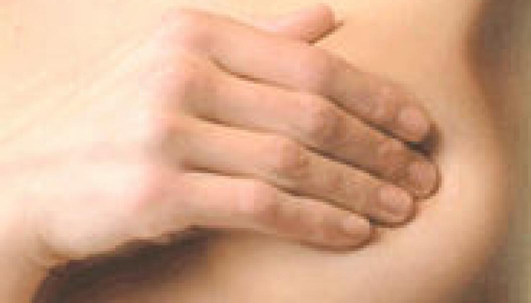Amming reduserer risikoen for brystkreft