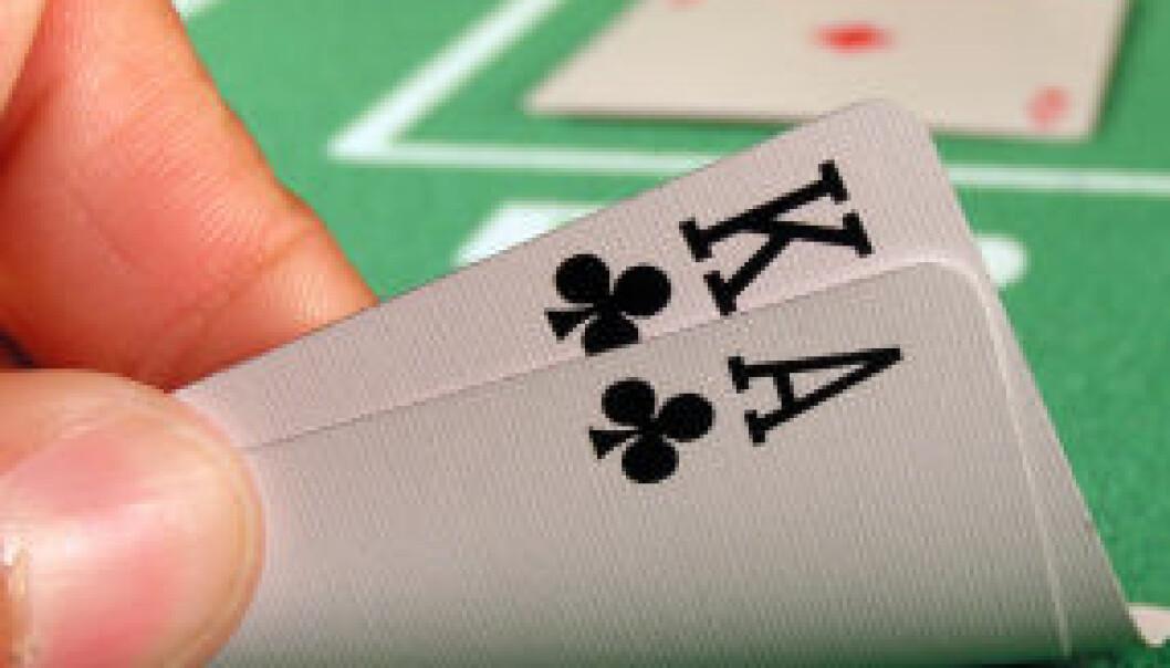 Forskere bruker ofte spillteori for å forklare naturen. Nå har danske forskere kommet med en teori de kaller for kasinoteorien. (Foto: www.colourbox.com)